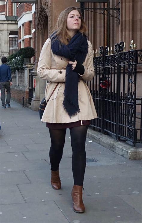 Skirt Lancip Black style black tights and a skirt