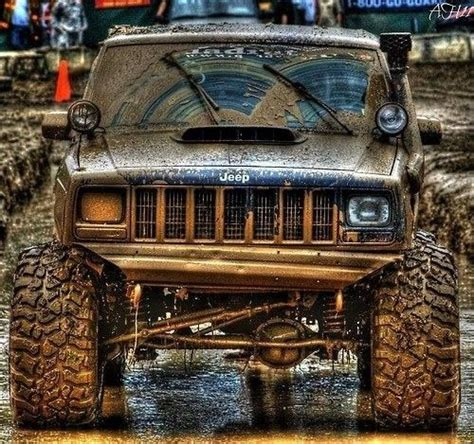 mud jeep cherokee 454 best real jeeps are xj s images on pinterest jeep