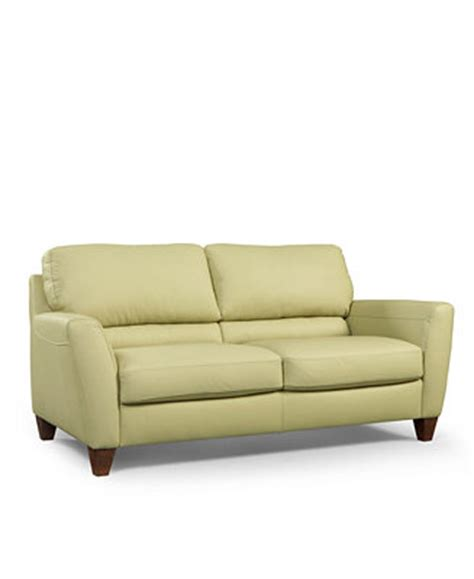 almafi leather sofa furniture macy s
