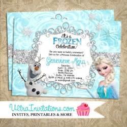 Embossed Wedding Invitations Frozen Printable Birthday Invitations Blank