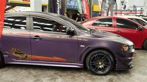 purple mitsubishi lancer matte purple mitsubishi lancer galeri kereta
