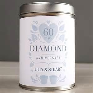 60th wedding anniversary gifts diamond gettingpersonal