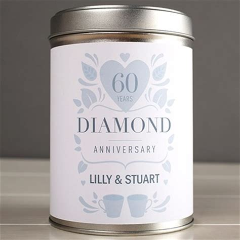 60th Wedding Anniversary Gifts (Diamond)   GettingPersonal