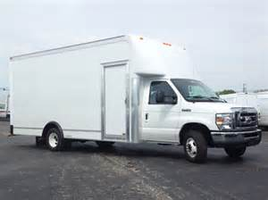 Ford Cutaway Fedex Ford Cutaway New Route Truck Lease Options