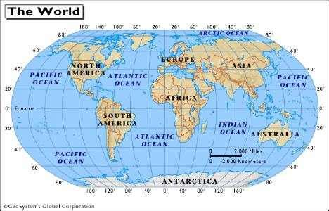 Where Is The Arctic Ocean Located On A World Map by Bhauke H Christian