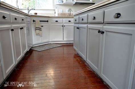painting kitchen cabinets with chalk paint update hometalk diy painted kitchen cabinet update reveal
