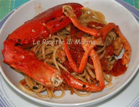 cucinare l astice vivo linguine all astice le ricette di marina