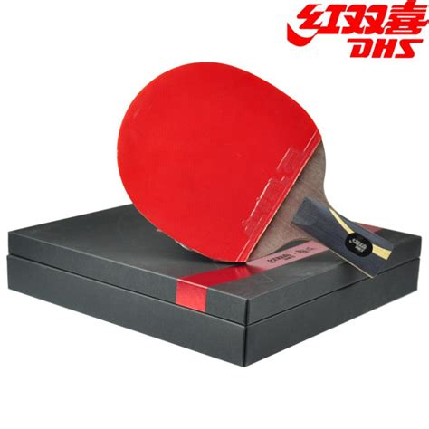 Bat Ping Pong Dhs S4f2 Isi 2 Original dhs hurricane king wang liqin gift set table tennis