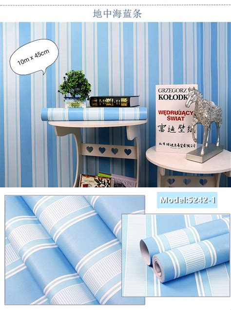 jual wallpaper dinding salur biru  lapak athaya acc athaya