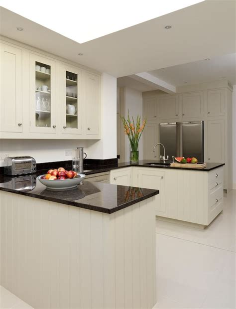 Farrow And Shaded White Kitchen Units by Harvey Jones Shaker Kitchen Handpainted In Farrow