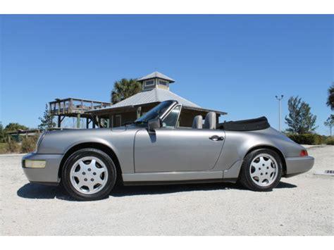 grey porsche 911 convertible 1990 porsche 911 convertible 5 speed manual gray