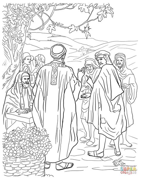 Coloring Page Matthew 22 by Free Christian Coloring Pages For Children And
