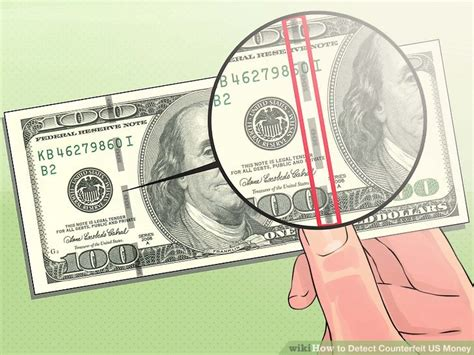 Best Paper To Make Counterfeit Money - the best ways to detect counterfeit us money wikihow