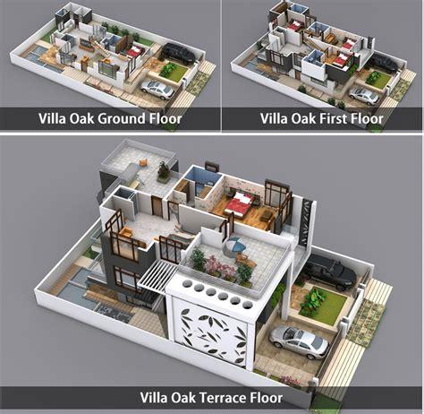 home design 3d manual villa oak 3d view kien truc pinterest villas 3d
