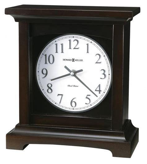 clock made of clocks clockway howard miller chiming quartz mantel clock made