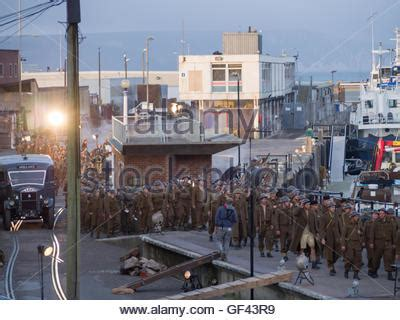 film locations for dunkirk weymouth harbour dorset uk 28th july 2016 the filming