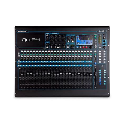 allen heath qu 24 24 channel digital mixer musician s friend