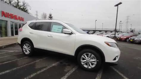 nissan white rogue 2015 nissan rogue sv awd pearl white fc807541 kent