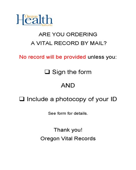 Oregon Birth Records Search Birth Record Order Form Oregon Edit Fill Sign Handypdf