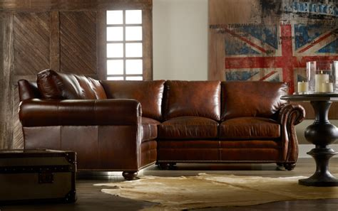 Traditional Leather Sectional Sofa Traditional Lawson Arm Leather Sectional Traditional Sectional Sofas Houston By