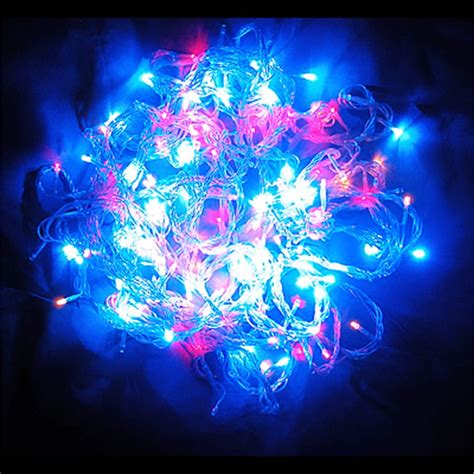 200led Multi Colored String Fairy Lights Christmas Wedding Colored Lights