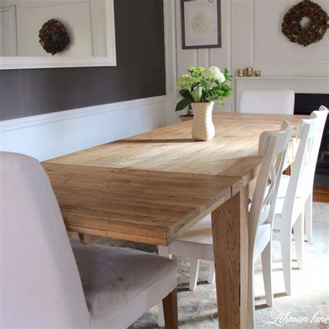 esszimmertisch hardware diy farmhouse table restoration hardware inspired