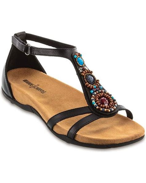 minnetonka beaded sandals minnetonka bayshore beaded cross sandals sheplers