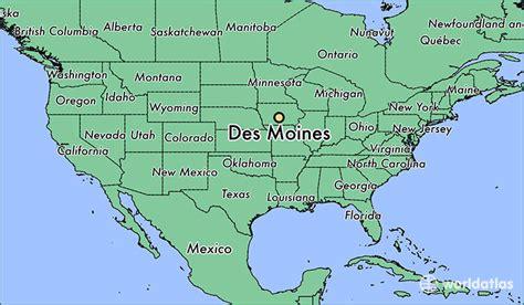des moines where is des moines ia des moines iowa map worldatlas