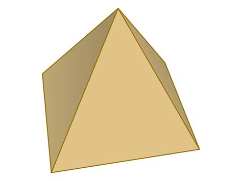 pyramid haircut pyramid cut out clipart best