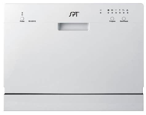spt countertop dishwasher silver review crossing
