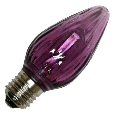 Purple Led Light Bulbs Lighting 22703 F15 Medium Base Purple Led Light Bulb