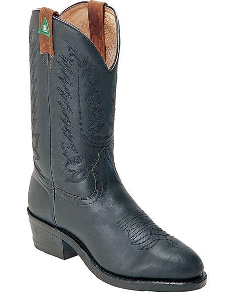 mens steel toe cowboy boots boulet s steel toe western work boots boot barn