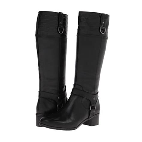 s black boot bandolino s cyrene boot black leather