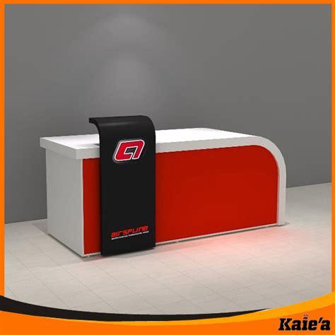 desain meja counter bank baru kaierda ritel counter kas meja counter kas desain
