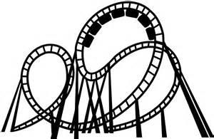 roller coaster vector roller coaster silhouette free vector silhouettes