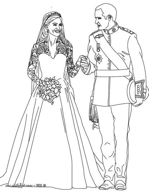 Royal Princess Coloring Pages Royal Wedding Coloring