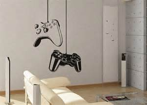 Interiors boys gamer themed bedroom in shades of gray and orange