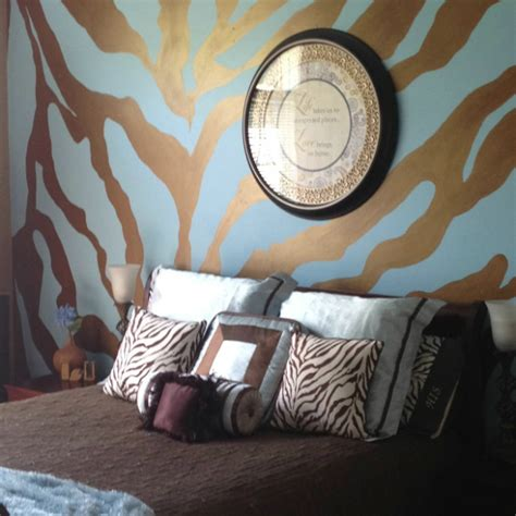 ideas   animal prints   bedroom decoholic