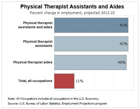 Physical Therapist Outlook by How Much Does A Physical Therapist Assistant Make Ecpi