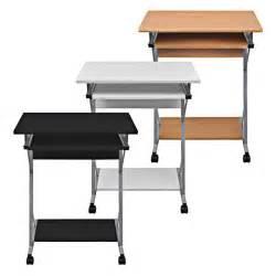 kleiner tisch auf rollen computertisch schreibtisch b 252 rotisch computerwagen pc