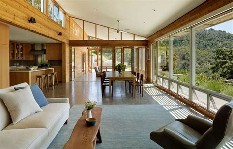 sustainable interior design reusing the wood from existing log structure for