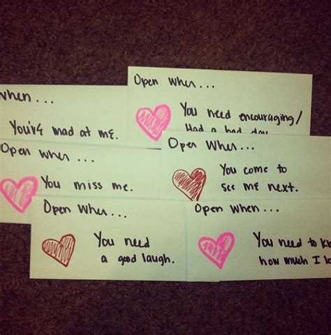 letter to my boyfriend on valentines day quot open when letters quot these to give to my