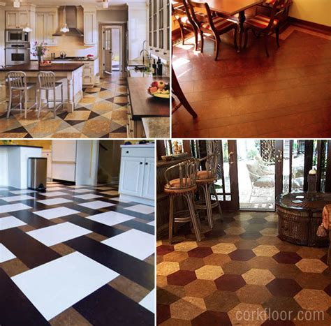 ideas for kitchen floors kitchen floors how i decided to use cork tiles pretty