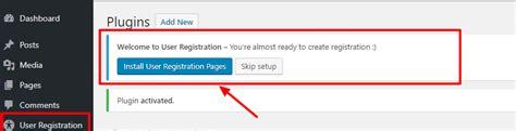 wordpress tutorial user registration how to create a wordpress user registration form super easy