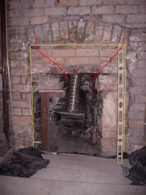 How To Fireplace by Opening Up A Fireplace Diynot Forums
