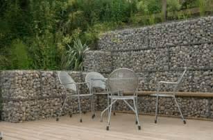 Gabion retaining wall simple low cost retaining