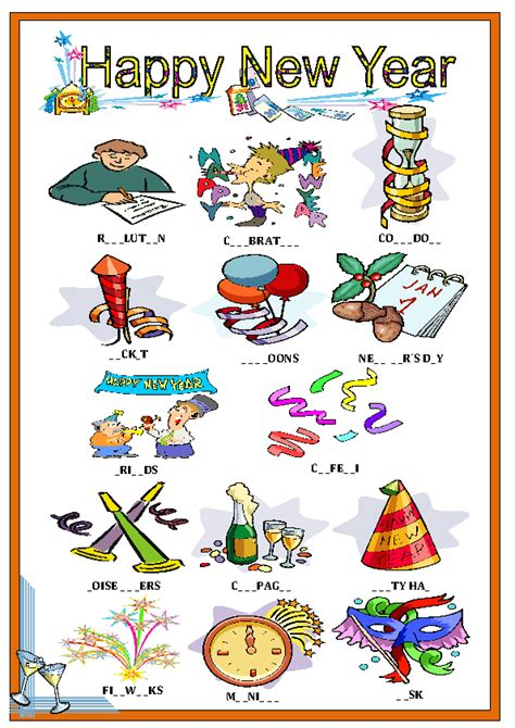 new year esl new year s resolutions vocabulary 28 images teaching
