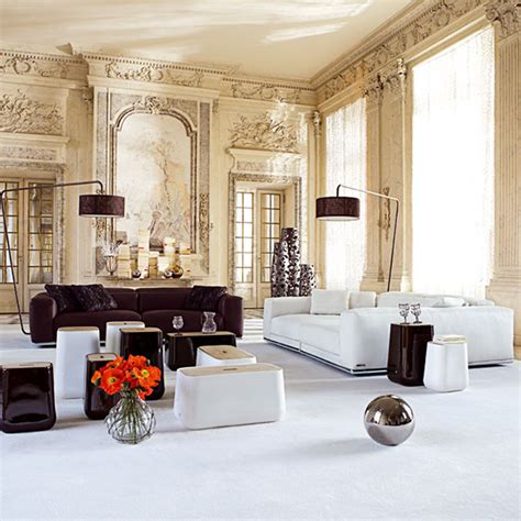 contemporary furniture by roche bobois inside traditional