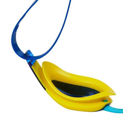 junior mirrored swimming goggles speedo fastskin3 elite mirrored junior swimming goggles