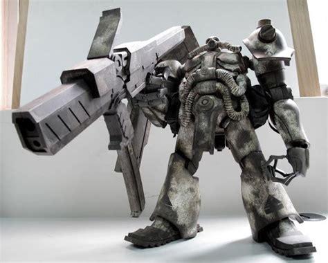 Mecha Blade Chain Blade No3 j me ε wood x gundam zaku